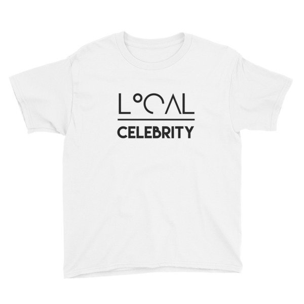 'Local Over Celeb' Youth Short Sleeve T-Shirt