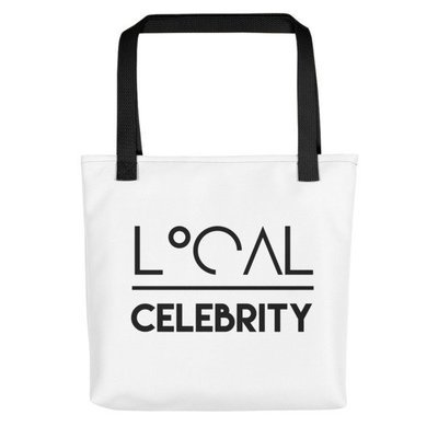 'Local Over Celeb' Tote bag