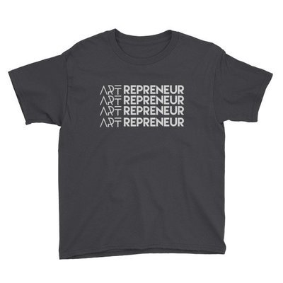 """ARTrepreneur"" Youth Short Sleeve T-Shirt"