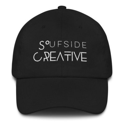 'Soufside Creative' Dad hat (White Letters)