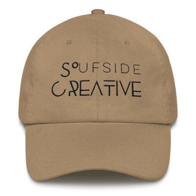 'Soufside Creative' Dad hat (Black Letters)