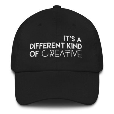 'It's a Different Kind..' Dad hat (white letters)