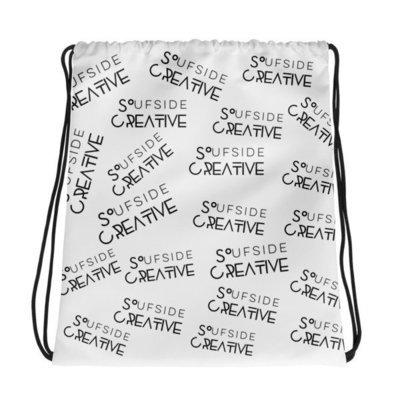 'Soufside Creative' Drawstring bag