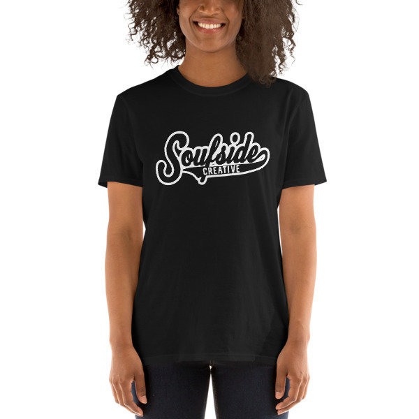 'Soufside Creative Athletic' Black Short-Sleeve Unisex T-Shirt