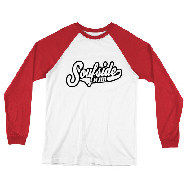 'Soufside Creative' Long Sleeve Baseball T-Shirt