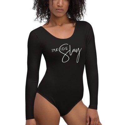 'Soufside Slay' Long Sleeve Bodysuit