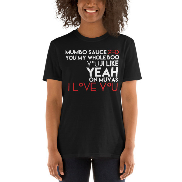 'On Muvas 143' Black Short-Sleeve Unisex T-Shirt