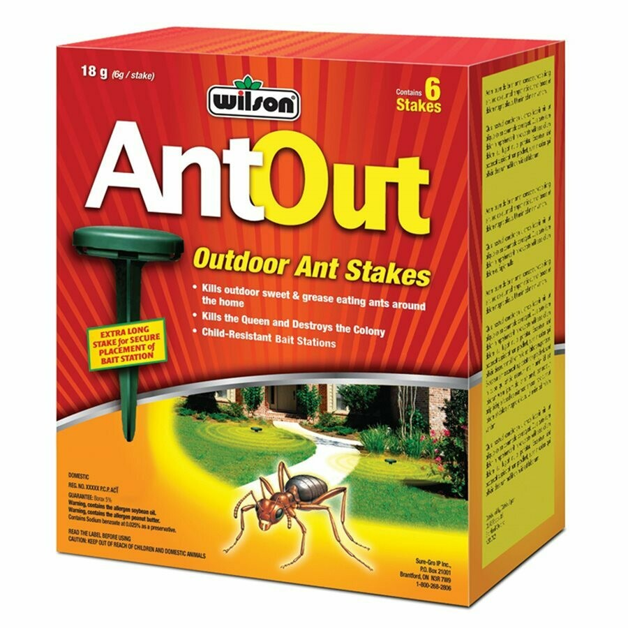 AntOut Outdoor Ant Stakes