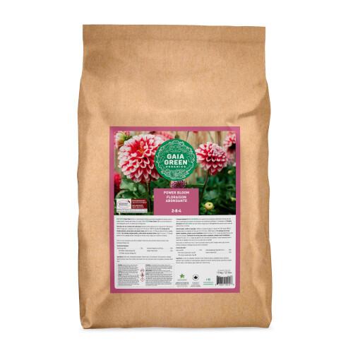 Gaia Green Power Bloom 2-8-4 Certified Organic Fertilizer 10kg bag