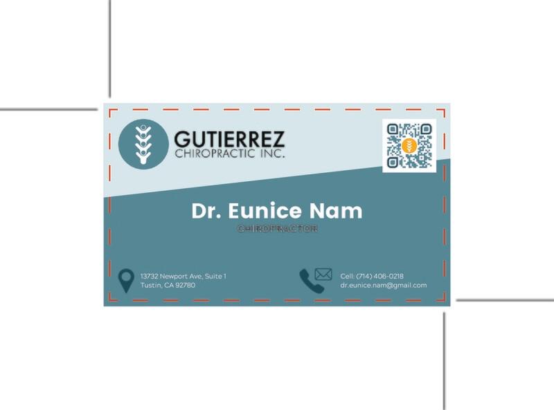 Guiterrez Chiropractic -Custom Order