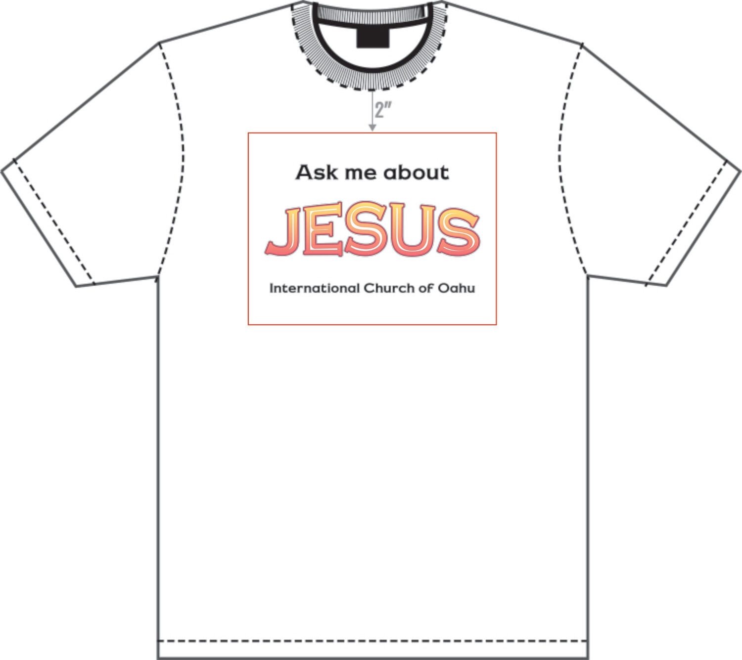 Custom Order - Ask Me About Jesus