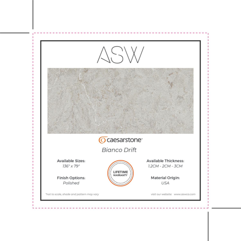 Custom Order - ASW Slab Swatches