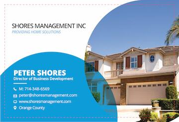 Custom Order - Shores Management - 2