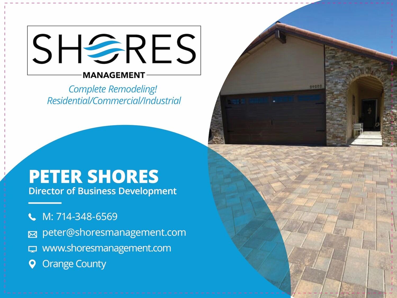 Custom Order - Shores Management - 3