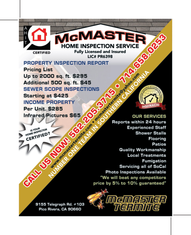 Custom Order - McMaster