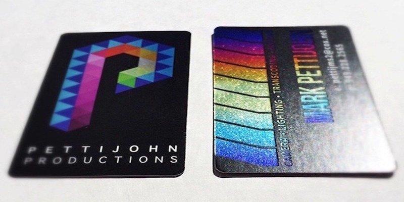 16pt Aquafoil / Cold Foil Cards