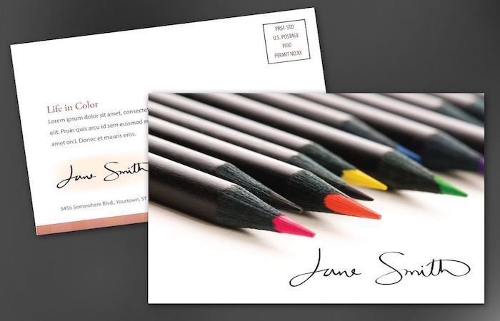 16pt Gloss, 16pt Matte & 14pt Uncoated Postcards with Mailing Services - All