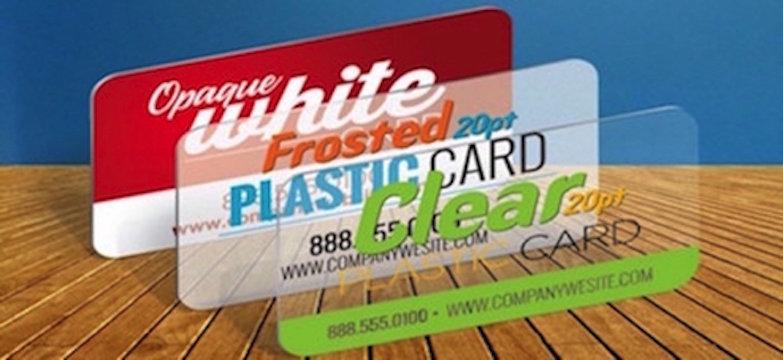 20pt Plastic Cards