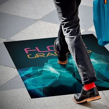 4mil - Flexible Adhesive Vinyl (Floor Graphics)