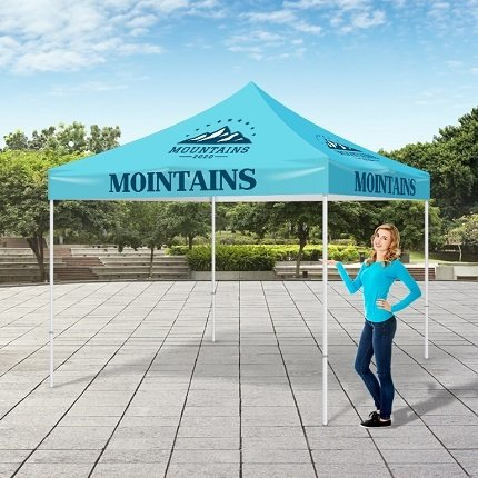 11oz - Premium Outdoor 10' X 10' Event Tent with Optional Hardware