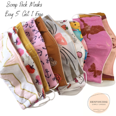Face Mask / Cover- Scrap Pack