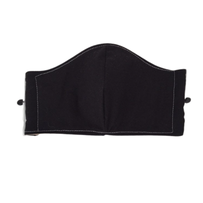 Face Mask / Cover- Adult - Teen / black