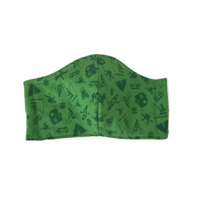 Face Mask / Cover- Adult - Teen / outdoors