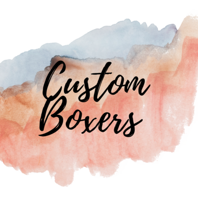 Undies - Boxers Adult Sizes - Custom Order