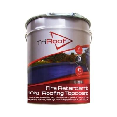 TriRoof PLATINUM Fire Retardant Roofing Topcoat