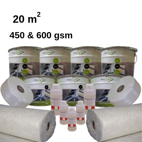 20m2 TriCure Standard Fibreglass Roofing Kits