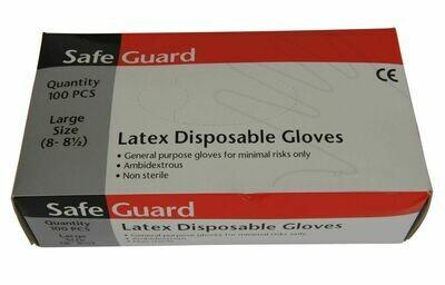 box latex disposable gloves