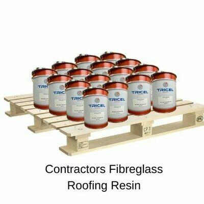 TRADE  - CONTRACTORS Fibreglass Roofing Resin