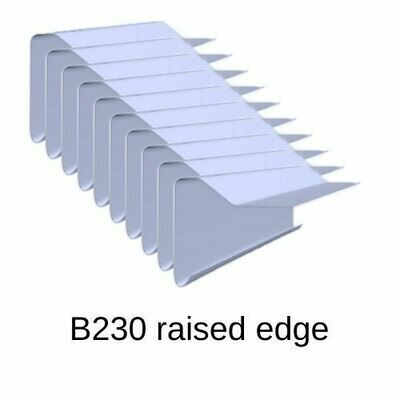 B230 10 pack Roofing Edge trims