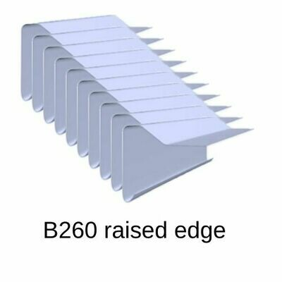 B260 10 Pack Roofing Edge Trims