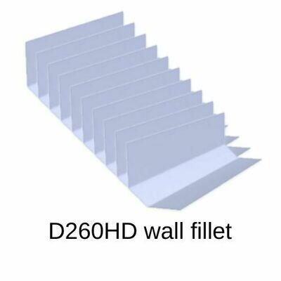 D260 10 pack Wall Fillet trims - Heavy duty