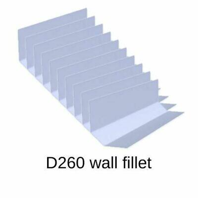 D260 10 pack Wall fillet Trims