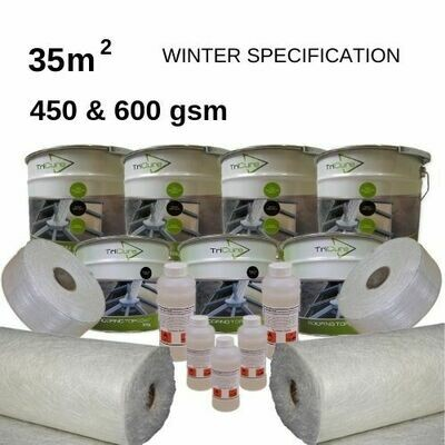 35m2 TriCure Standard Fibreglass Roofing Kits