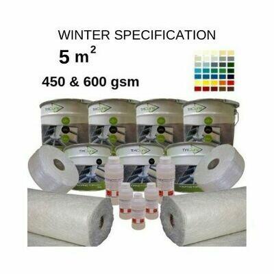 5m2 TriCure Colour Standard  Fibreglass Roofing Kits