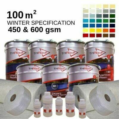 100m2 TriRoof Colour Premium  Fibreglass Roofing Kits