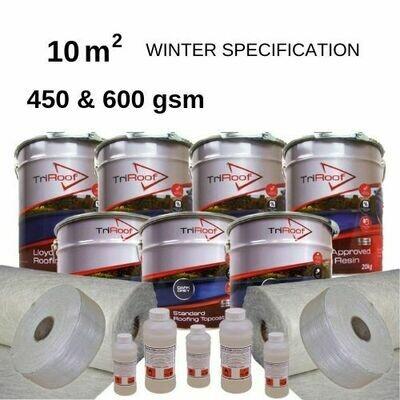 10m2 TriRoof Premium Fibreglass Roofing Kits