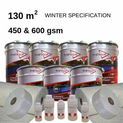 130m2 TriRoof Premium Fibreglass Roofing Kits