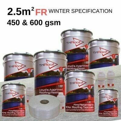 2.5m2 TriRoof Platinum Fire Retardant Roofing Kits