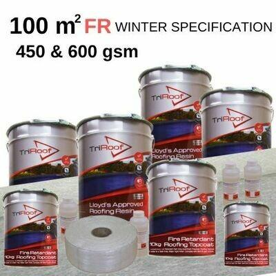 100m2 TriRoof Platinum Fire Retardant Roofing Kits