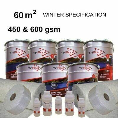 60m2  TriRoof Premium Fibreglass Roofing Kits