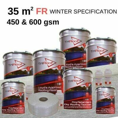 35m2 TriRoof Platinum Fire Retardant Roofing Kits