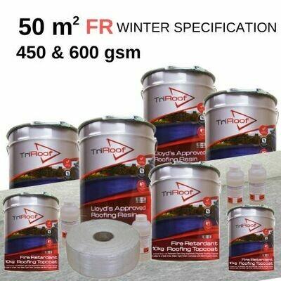 50m2 TriRoof Platinum Fire Retardant Roofing Kits