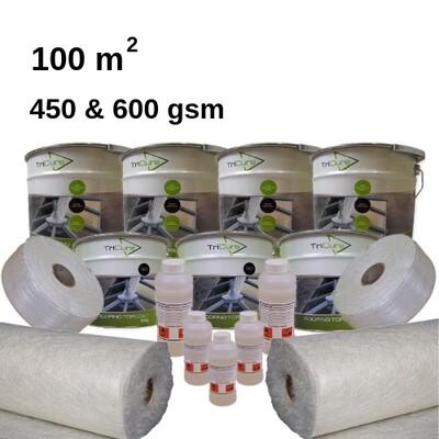100m2 TriCure Standard Fibreglass Roofing Kits