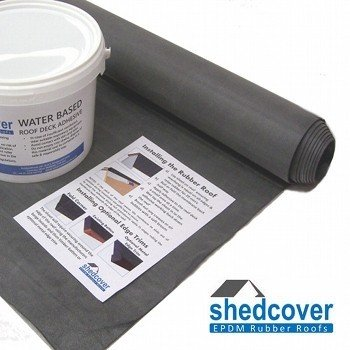 EPDM Rubber Shed Roof Kits