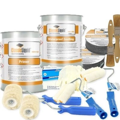 ClassicLiquid Platinum 20 yr Guarantee Waterproofing Flat Roof Kits