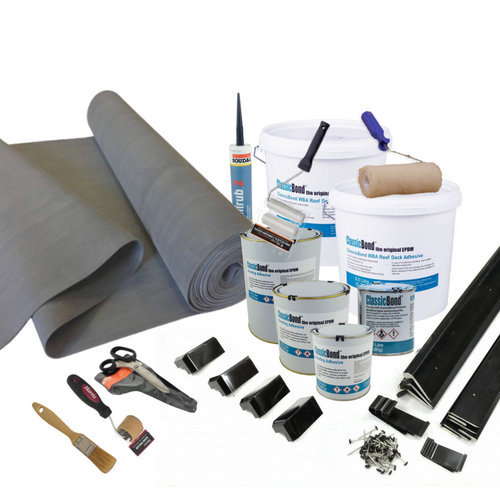 Rubber Roofing Kits 1.2mm  - 2.5m2 - 100m2